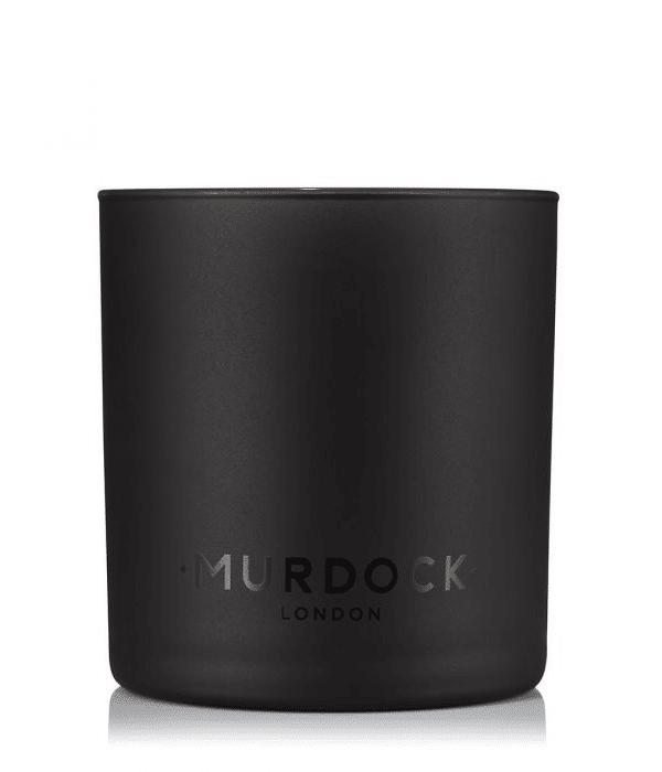 murdock black tea candle