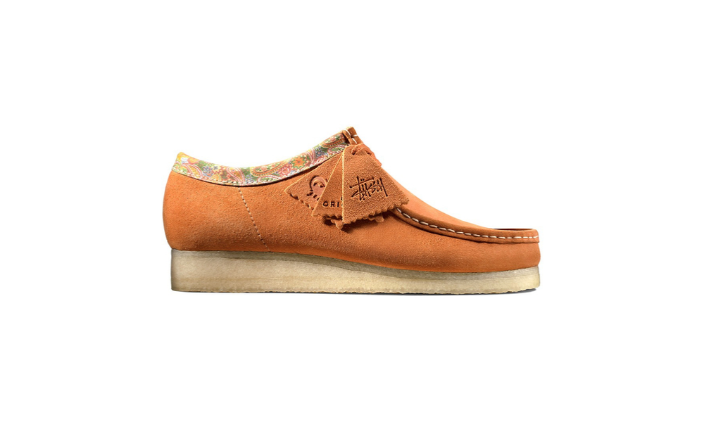 stussy collab with clarks