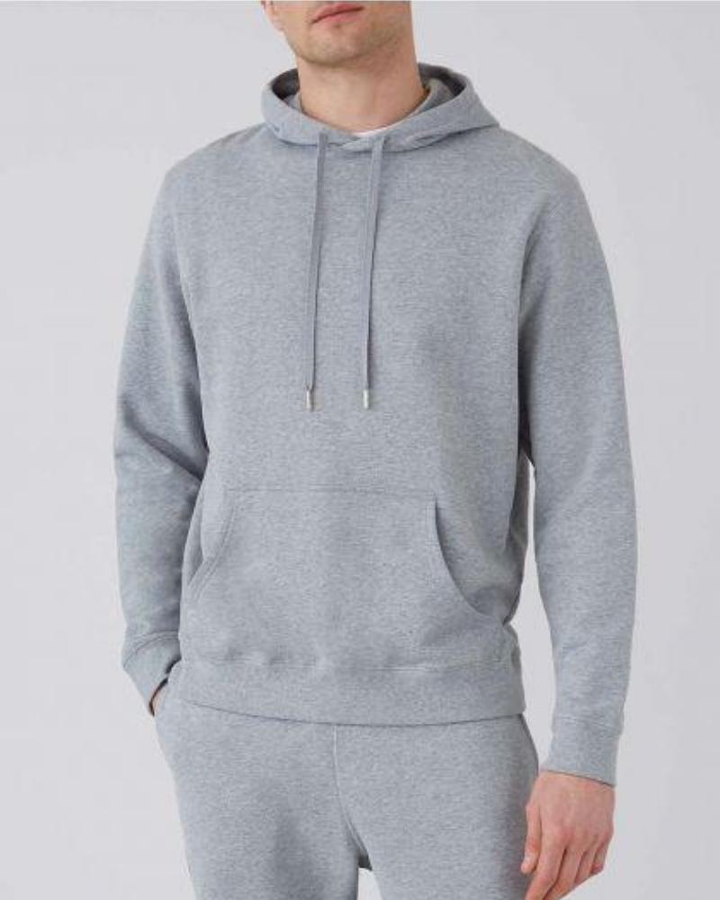 sunspel grey hoodie