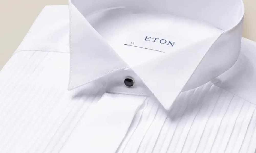 an eton wing collar shirt