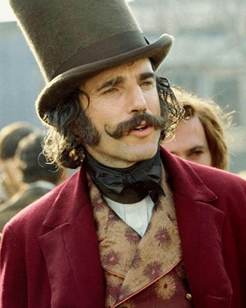 daniel day lewis handlebar moustache
