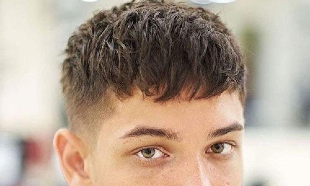 mens french crop haircut
