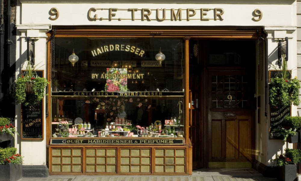 gf trumper barber shop