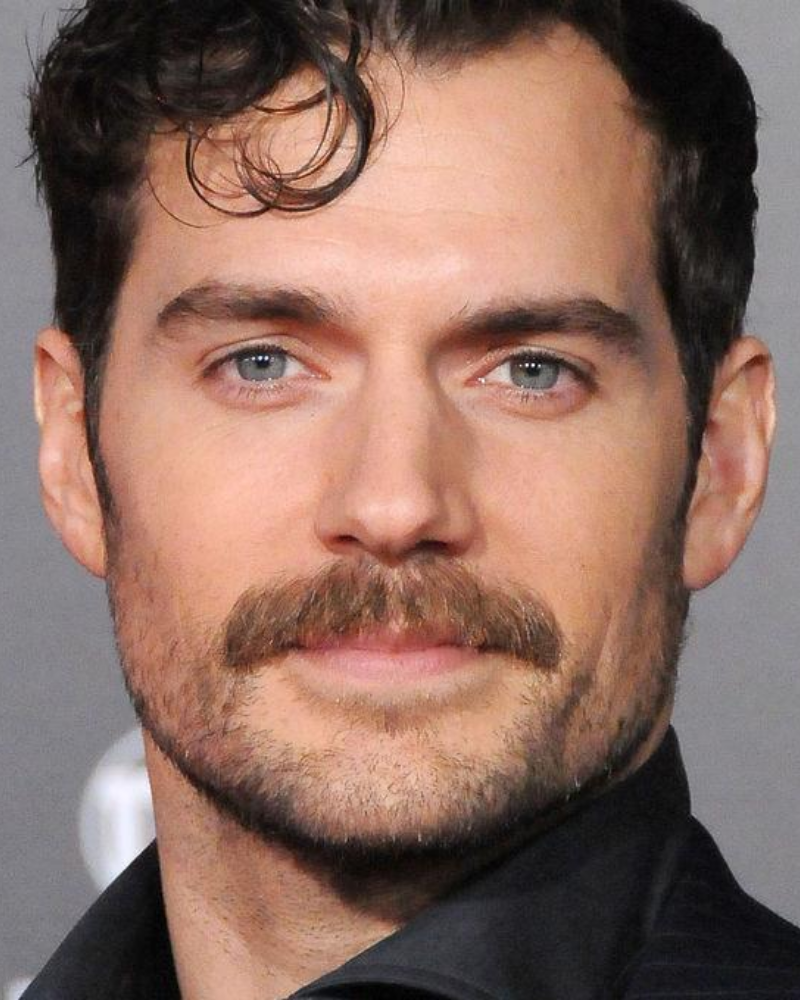 henry cavill mission impossible moustache