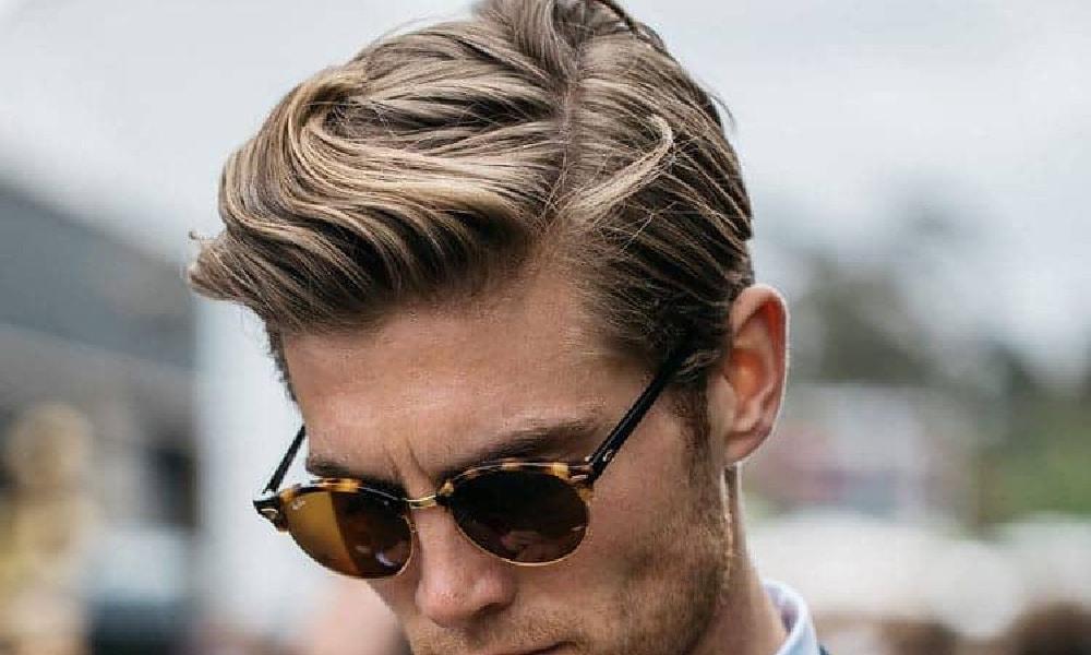 medium hair length men