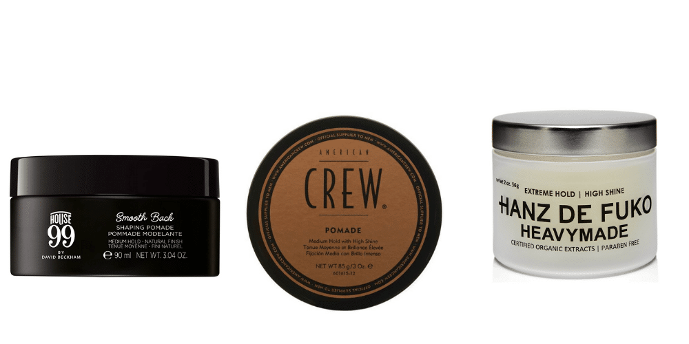 pomade for medium hair length