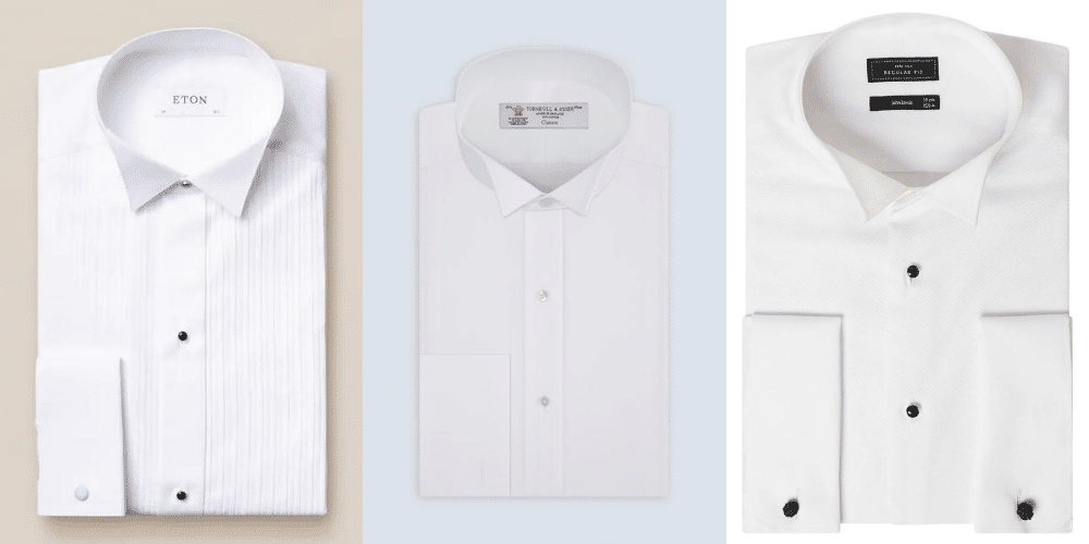 brand selling wing collar shirts