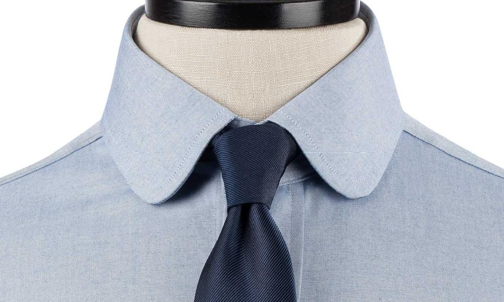 example of club collar shirt