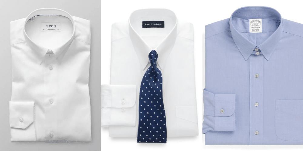 examples of tab collar shirts