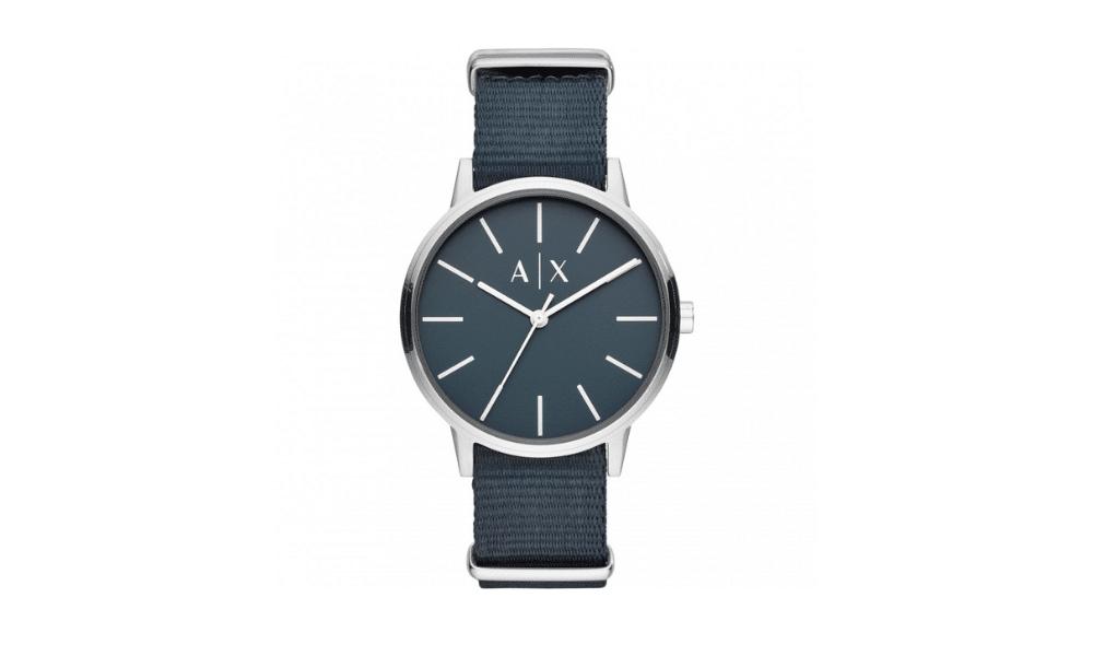 armani exchange cayde watch