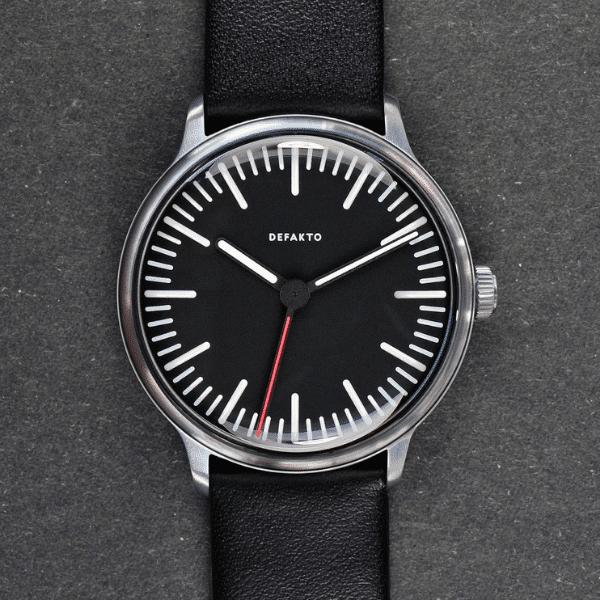 defakto transit standard watch