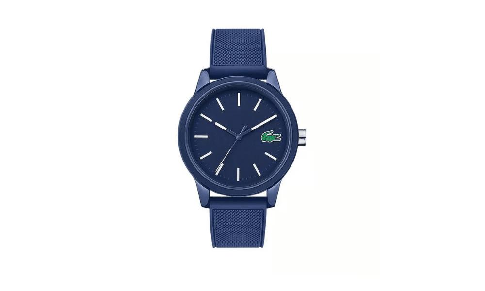 lacoste blue sports watch