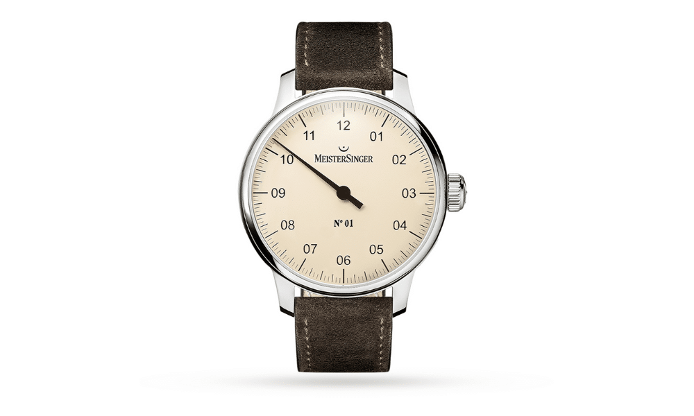 Meister Singer automatic ivory watch