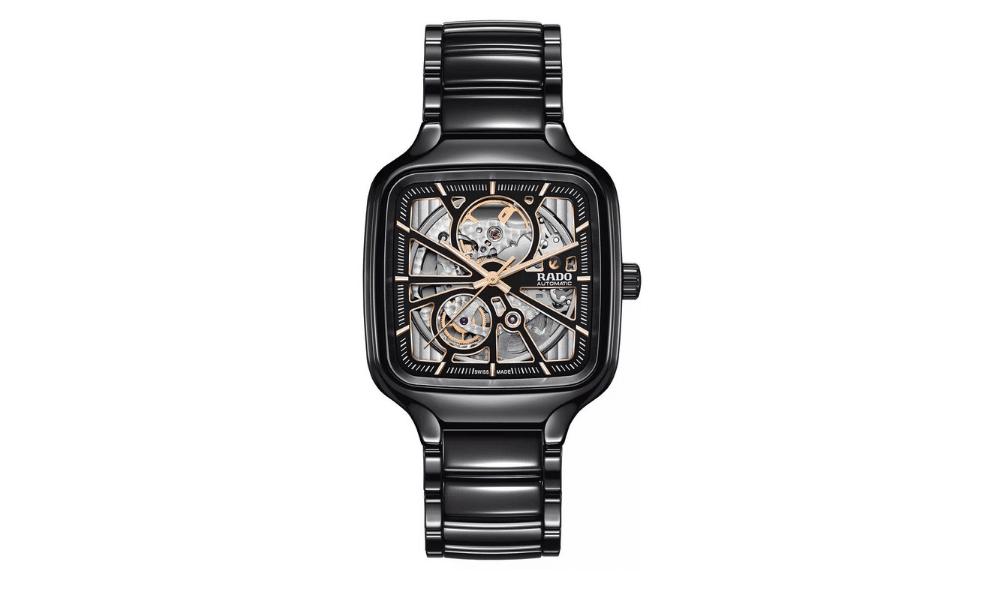 rado true square ceramic watch
