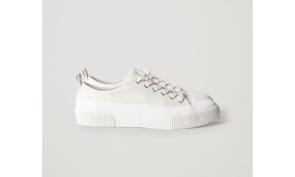 cos oversized canvas shoe