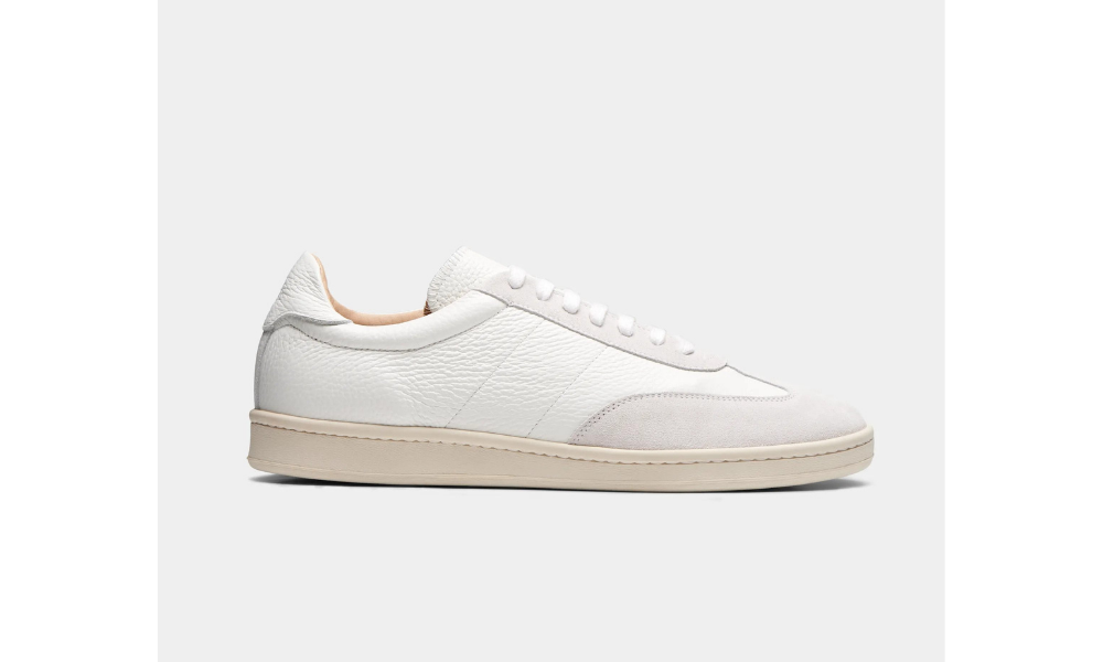 suit supply white sneakers