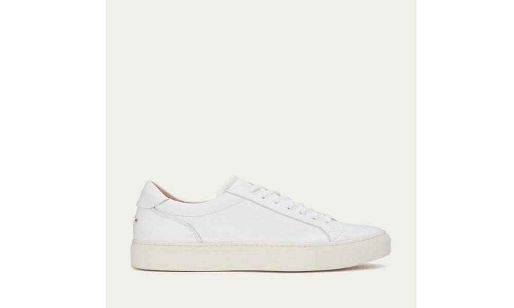 unseen helier white sneaker