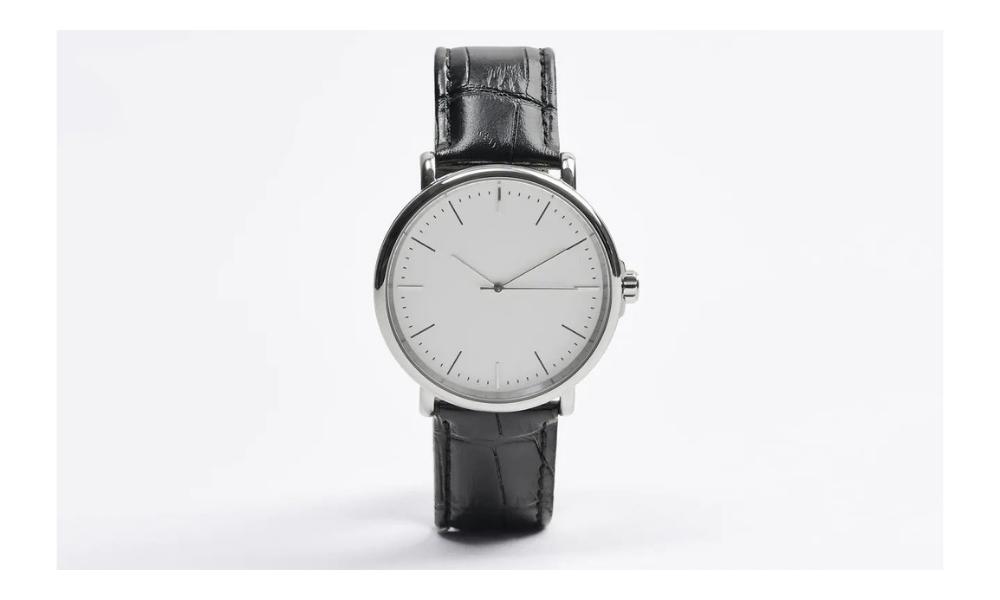 zara minimalist watch