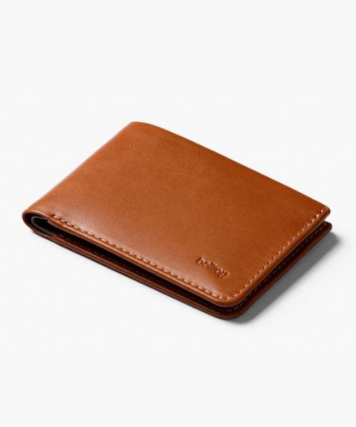 bellroy brown wallet