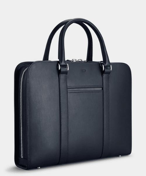 navy blue briefcase for men
