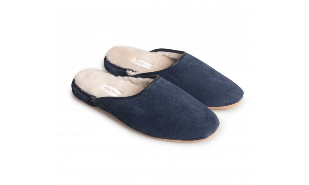Derek Rose Sheepskin Slippers
