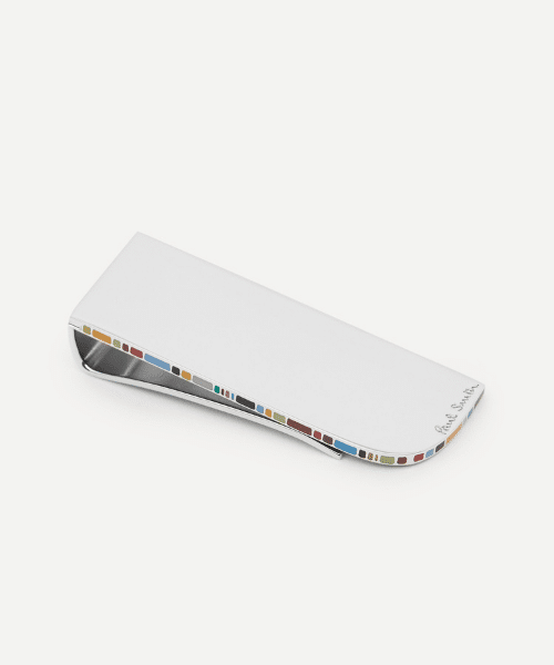 silver money clip from paul smith
