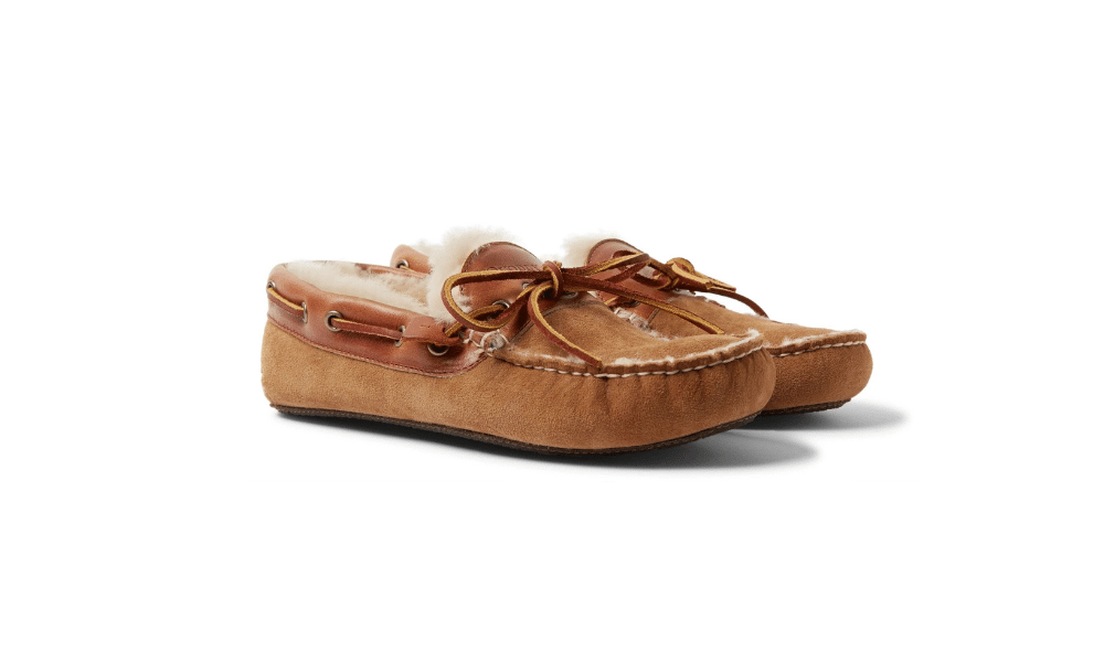 quoddy moccasin slippers