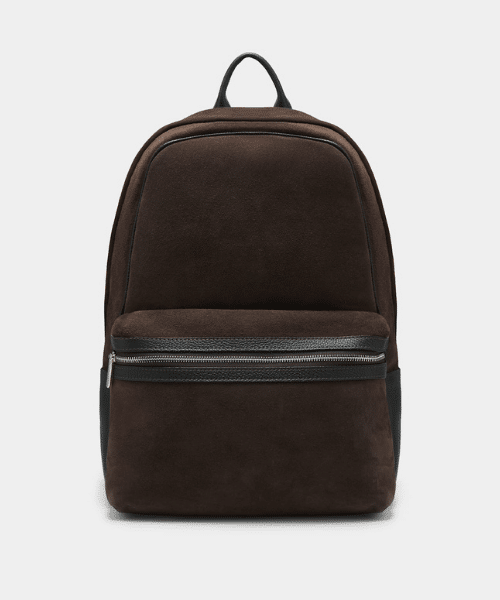 suit supply brown backpack