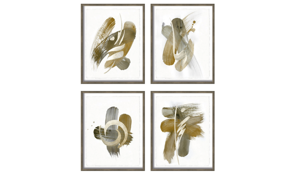 Set of 4 Landel Paintings