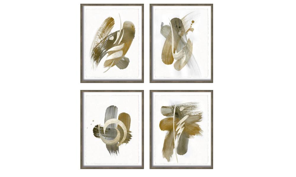 Set of 4 Landel Paintings