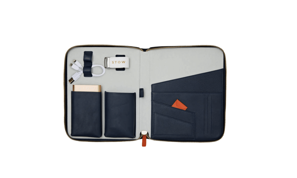 Stow Leather Travel Case