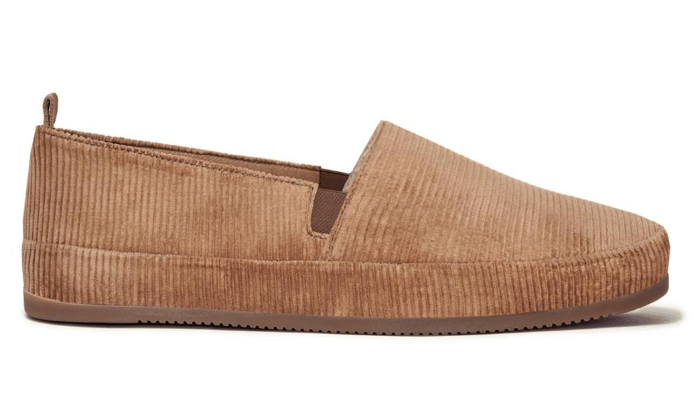 mulo corduroy slippers