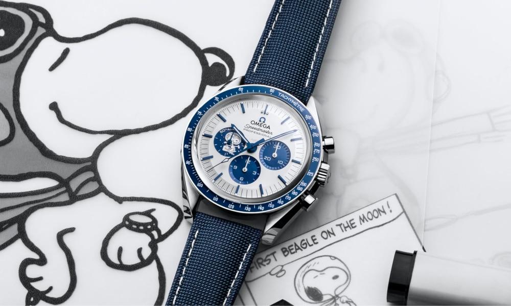 omega snoopy award watch