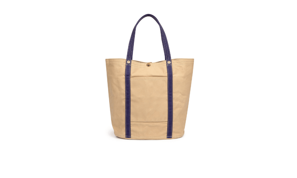 Ichizawa Hanpu Cotton Canvas Tote Bag
