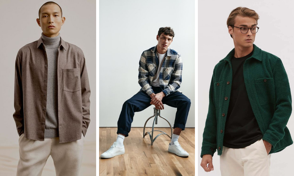 utilise an overshirt at homme