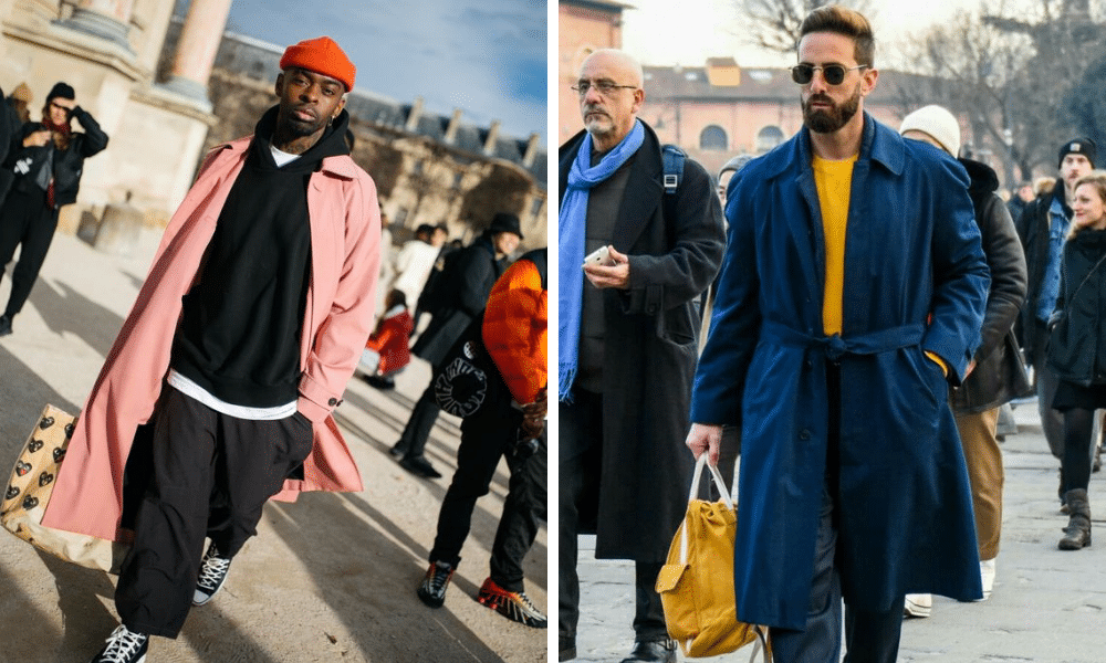 street style examples of colour use