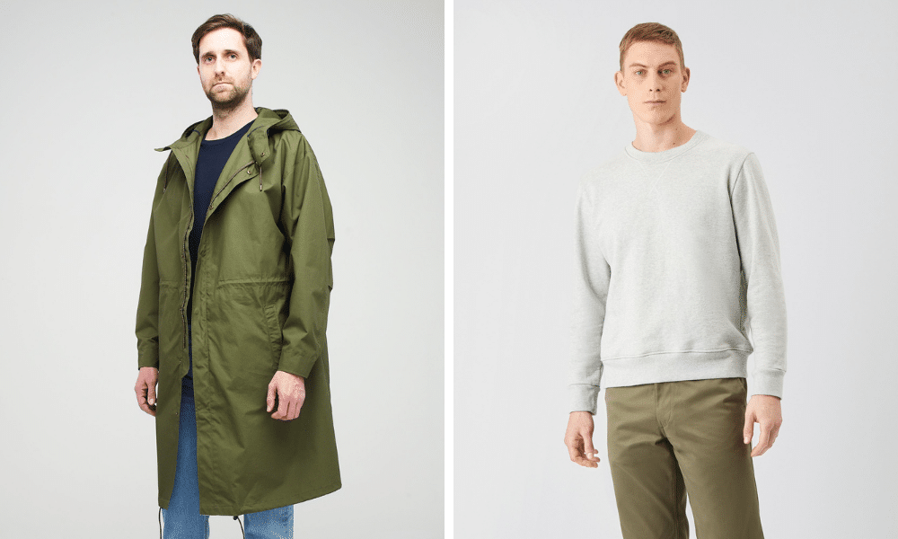 community clothing menswear products