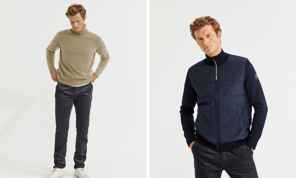 mens clothing from ecoalf