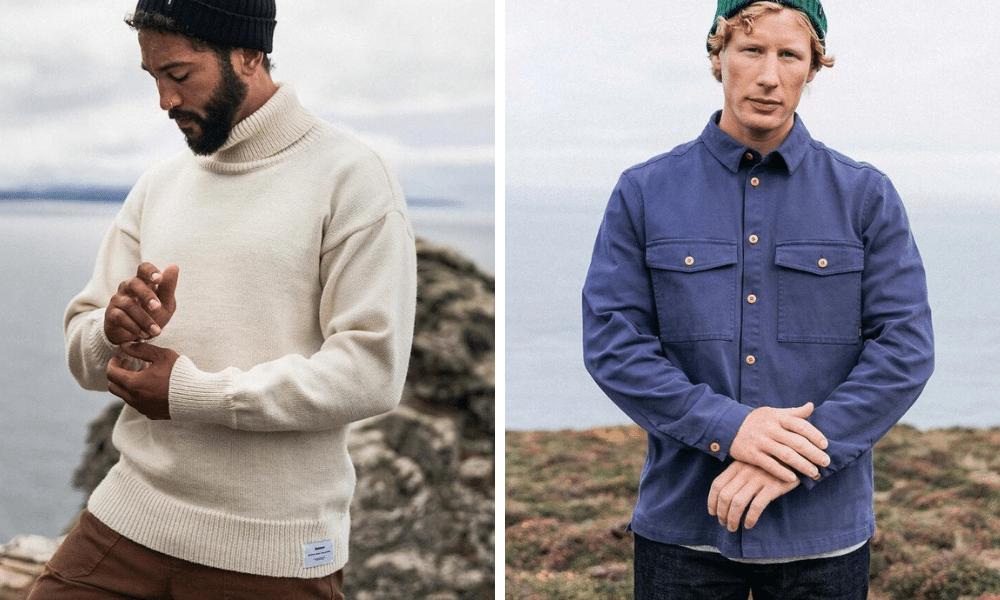 finisterre british sustainable clothing