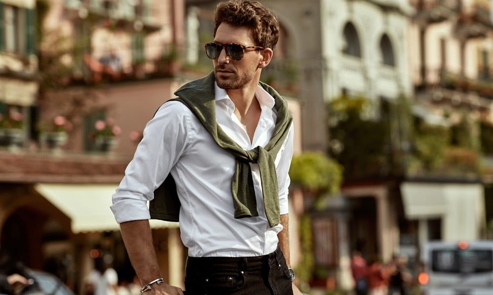 man with great style