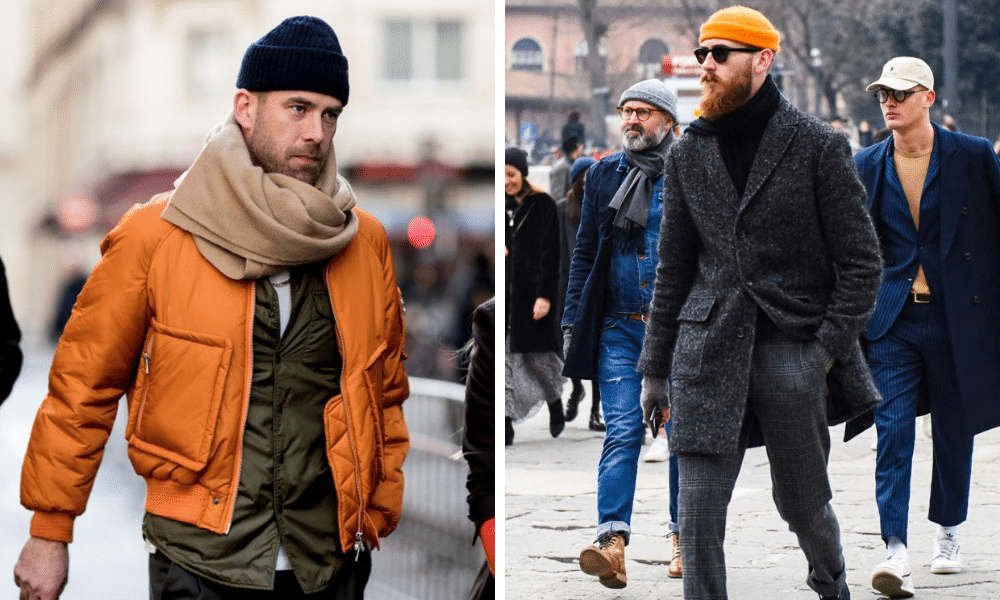 shorter guys can use accessories to appear taller