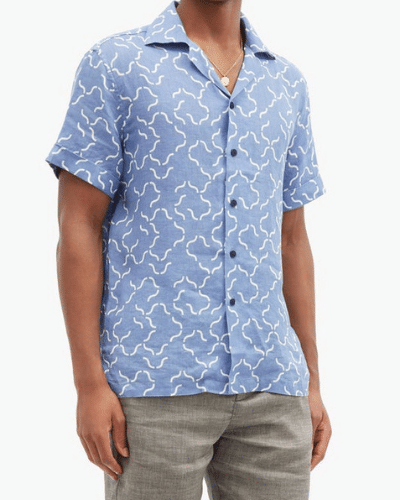 FRESCOBOL CARIOCA cuban shirt