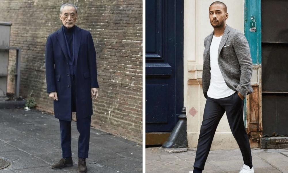 street style inspiration for shorter men