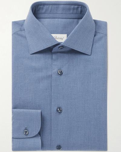 brioni chambray shirt