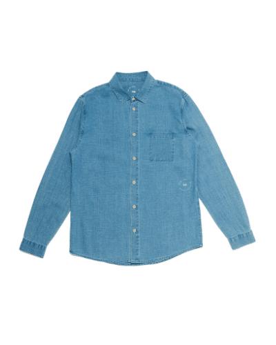 folk chambray shirt