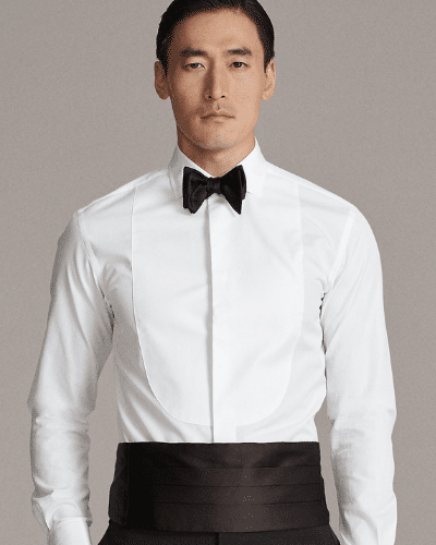 ralph lauren tuxedo shirt