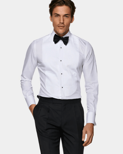 suit supply poplin tuxedo shirt