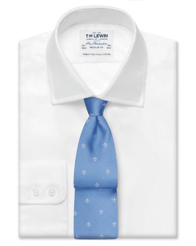 tm lewin smart white shirt
