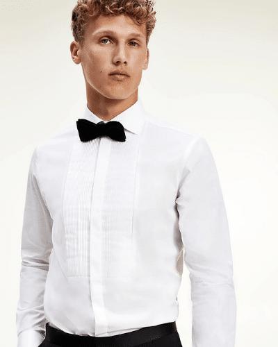 tommy hilfiger tuxedo shirt