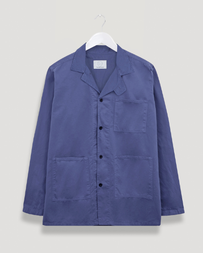 form and thread blue jacket